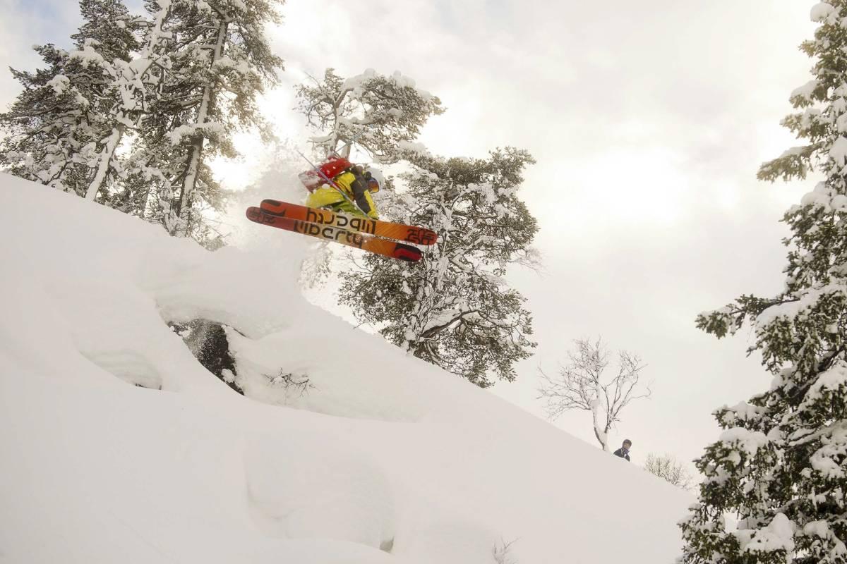 Grungedal topptur frikjøring ski Svein Olav Lien