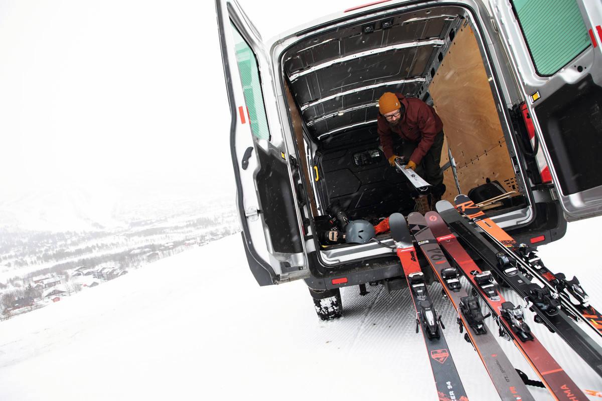 Skitest frikjøringsski