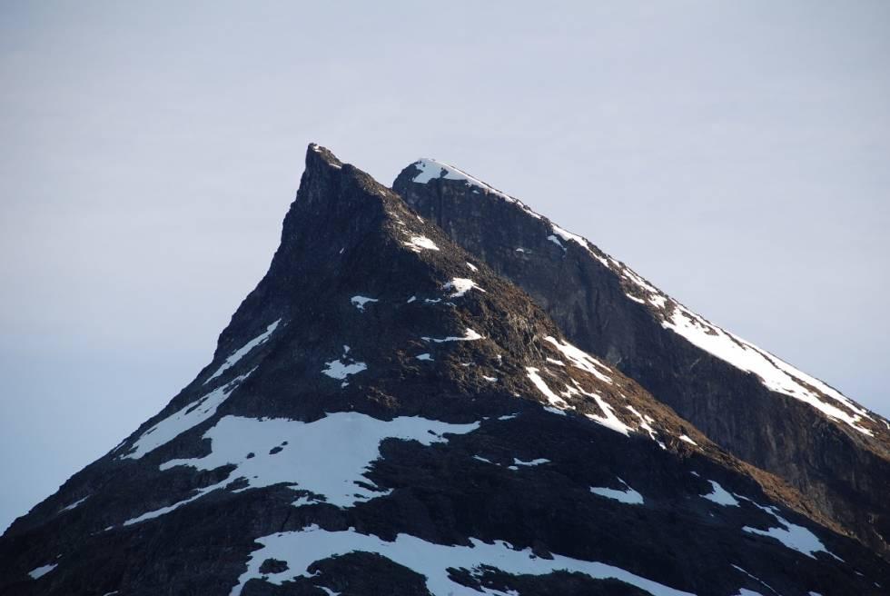 Toppen av Skagsnebb Jotunheimen