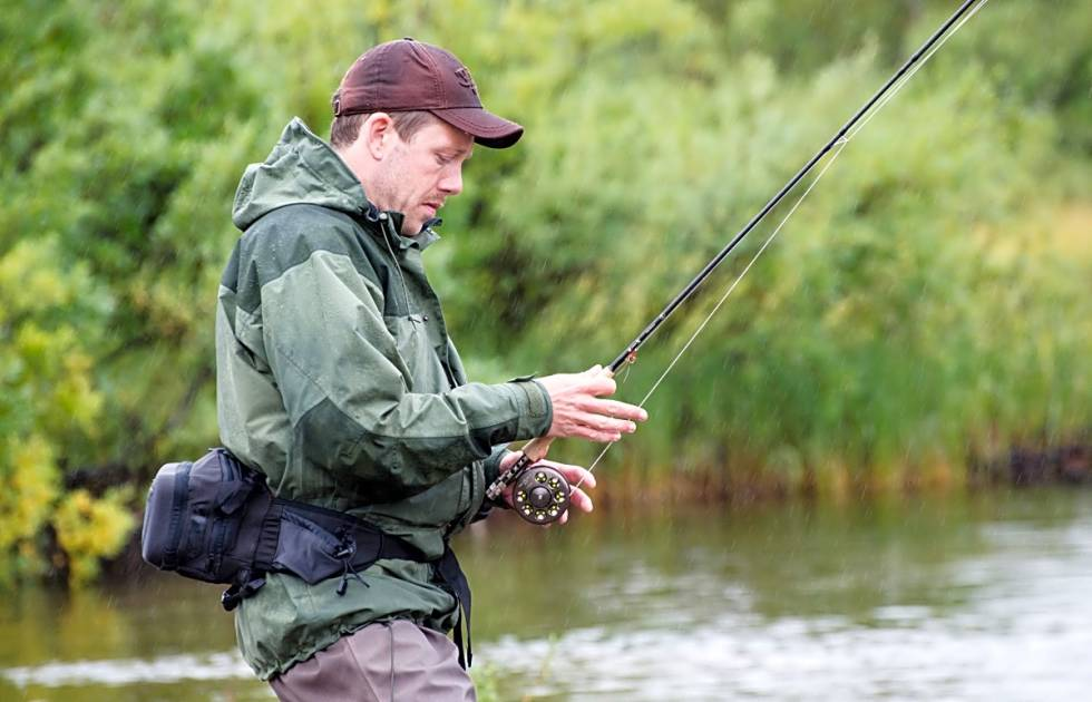 Fluefiske fisking fiske