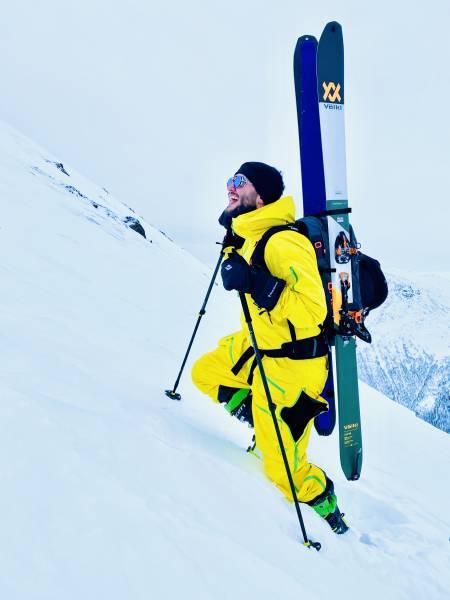 Med skia på skredsekken