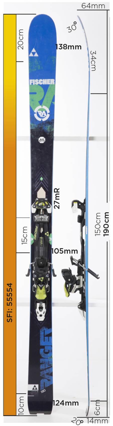 Test av Fischer Ranger 106 2015