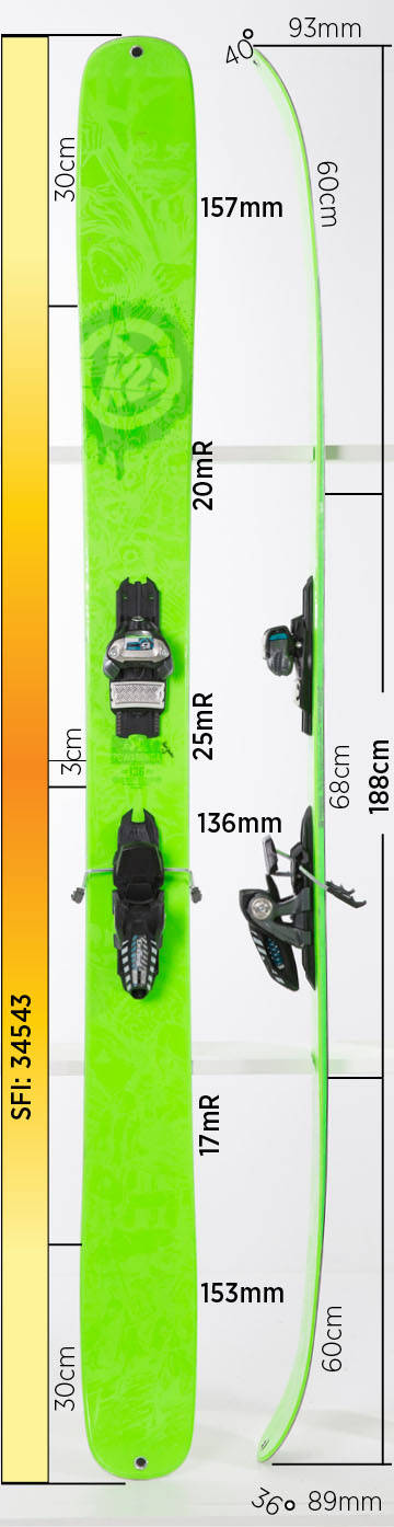 Test av K2 Shreditor Powabunga