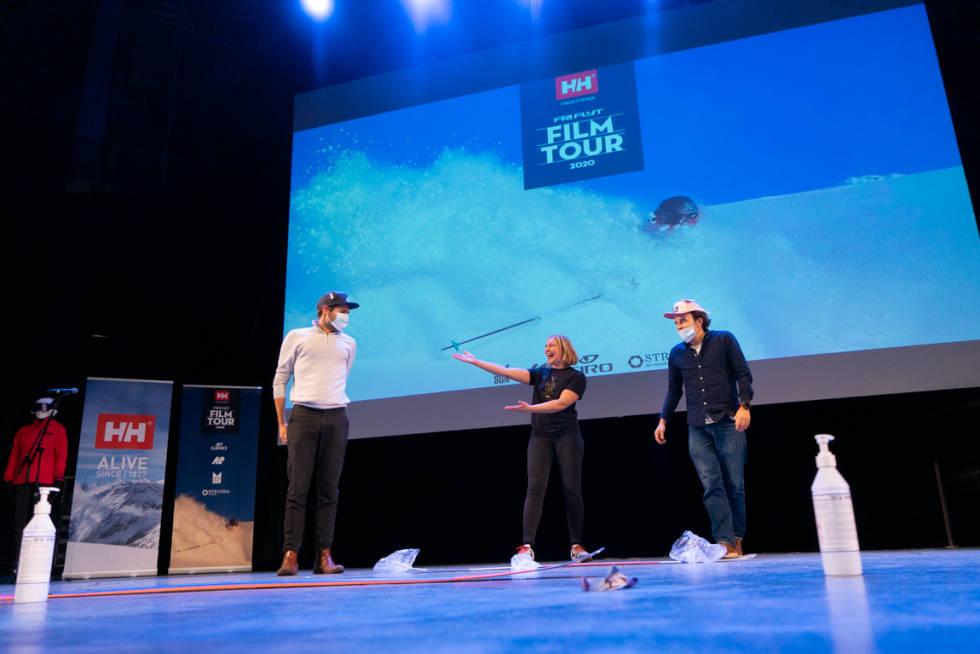 Koronavennlige konkurranser på årets Film Tour. Foto: Martine Olsen