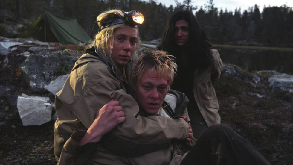 Det blir gjensyn med Eva Röse, Kristoffer Joner og Sam Sharma i Villmark  på Fjellfilm (Foto: Helge Hansen).