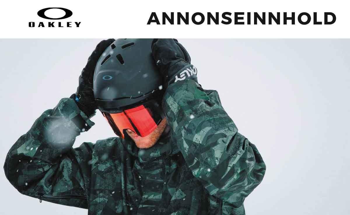 Velg hjelmen som passer deg. Oakley sine nye hjelmer er tilpasset alle krav til sikkerhet, passform og stil.