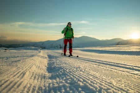 Med kort vei fra fjorden til høyfjellet, kommer langrennsanleggene i fjorden i en klasse for seg. Foto: Fjord Norge (?)