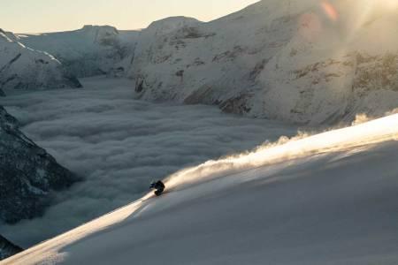 Loen Skylift er muligens landets mest effektive skiheis. Foto: Bård Basberg