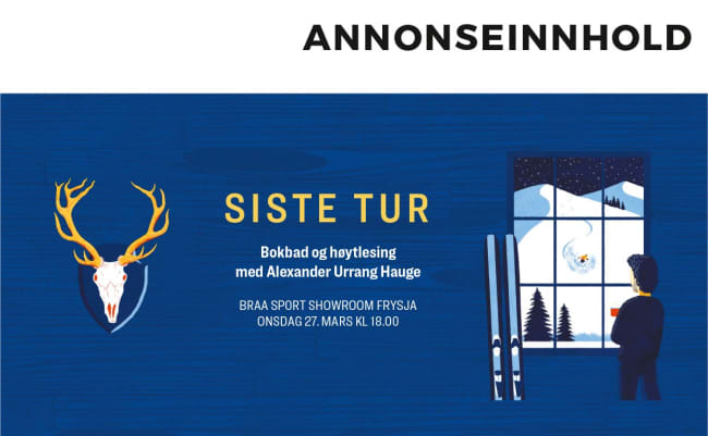 Vil du se Alexander Urrang Hauge - live? Nå har du sjansen