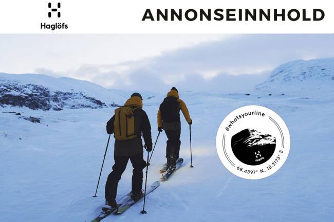 Vis oss din skikjøring - bli Haglöfs-ambassadør! #whatsyourline