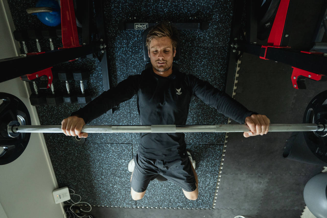 BENK: For mange den mest prestisjefulle øvelsen, men ikke nødvendigvis den viktigste for ski- og brettfolk. Bilde: Christian Nerdrum