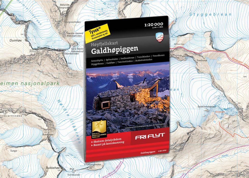 Galdhøpiggen kart calazo fri flyt