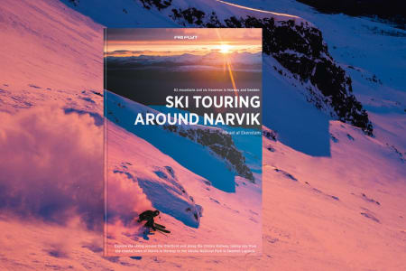 Ski Touring Around Narvik cover. Author Mikael Af Ekenstam.
