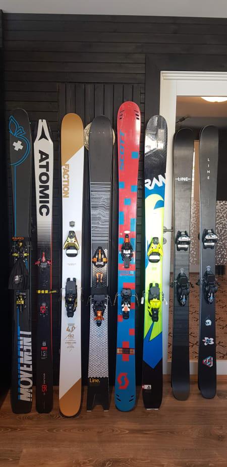 Div Freeride/twintipp/topptur ski