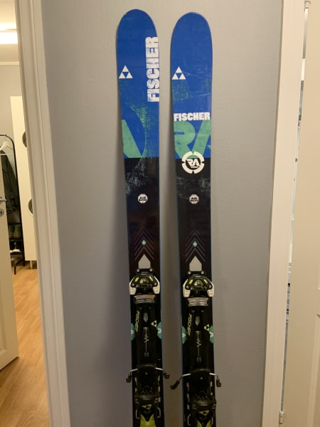 Fischer Ranger 106 ti allmountain ski m/ toppturbinding