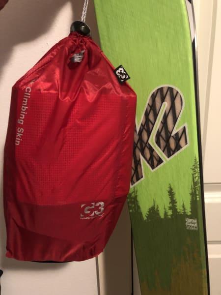 Lyst på lette ski? K2 wayback 88 med G3 feller