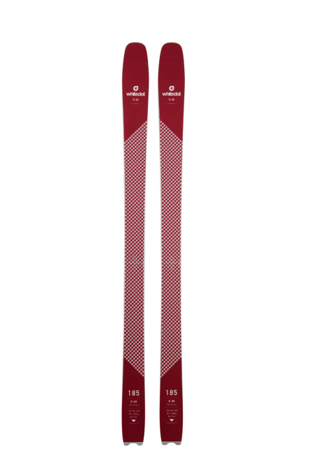 Whitedot R.98 T 185 cm med Marker Kingpin 13