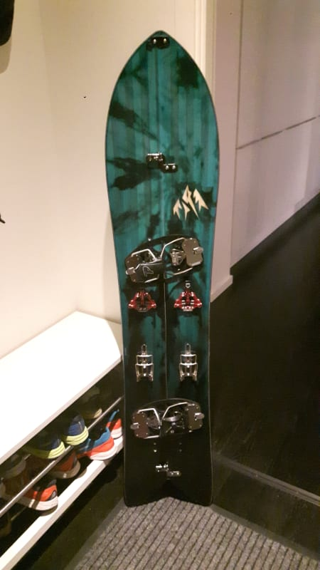 Splitboard: Phantom + Jones Stormchaser+Arcteryx Procline