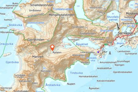 Død Lofoten ulykke fjelltur