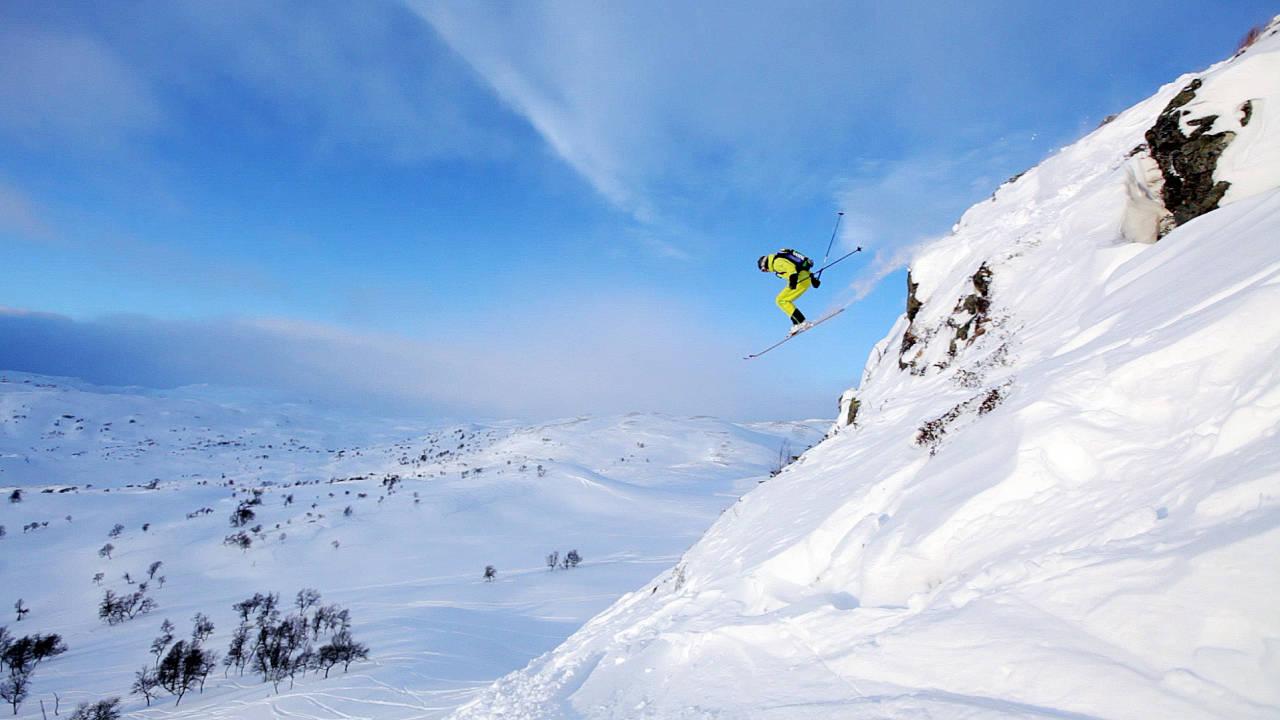 Haukelifjglel skisenter freeride offpiste offpist