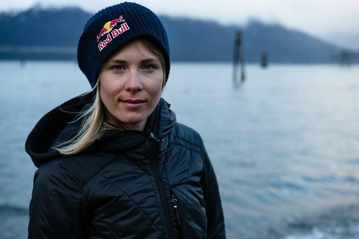 OMKOM: Matilda Rapaport døde etter et skred i Chile. Foto: Red Bull