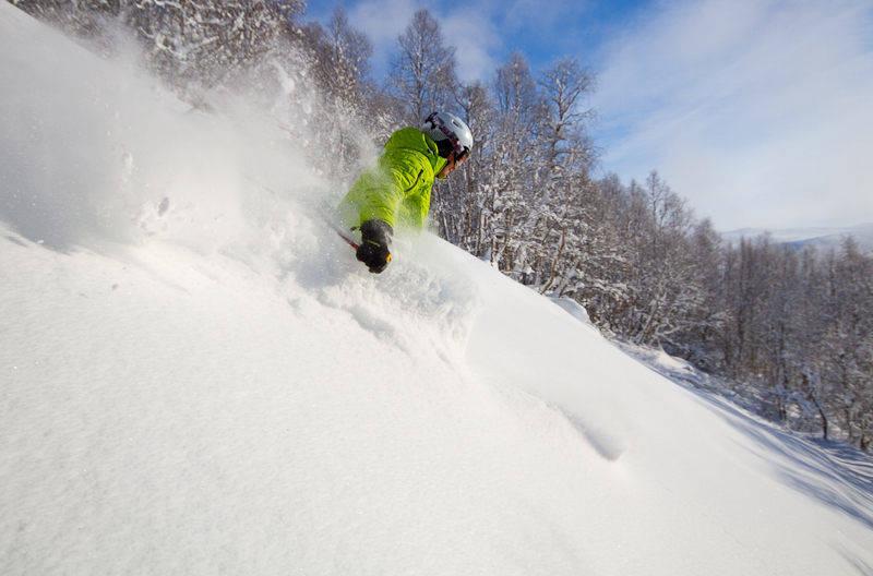 Bjorli skisenter freeride frikjøring pudder snø alpint ski snowboard topptur randonee
