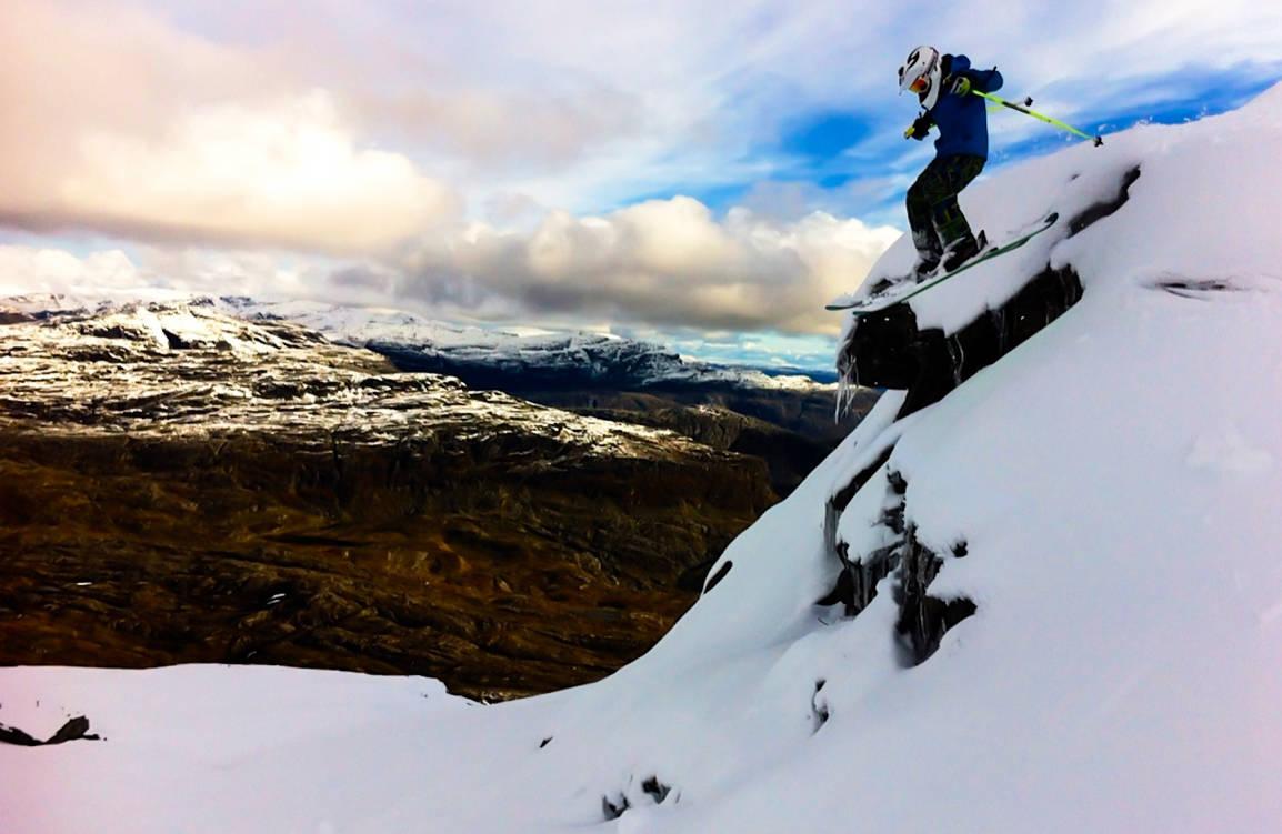 Røldal haukeli topptur freeride frikjøring fri flyt guide