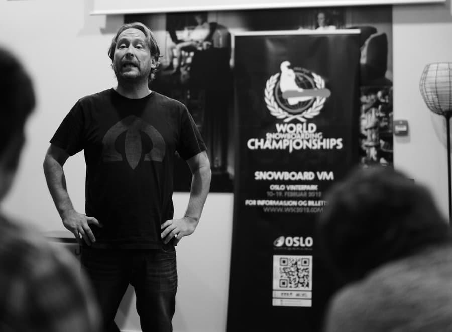 TAR INITIATIVET: Henning Andersen inviterer til åpent om møte om det han kaller «frisportenes framtid». Foto: Stian Frøysang