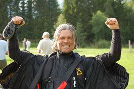 RASKEST: Frode Johannessen fløy raskest i Romsdalen. Foto: Anna Skomsø