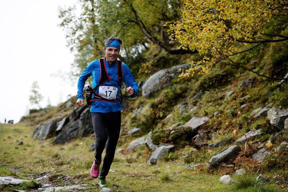 VANT: Ola Hovdenak vant Trollheimen Fjellmaraton. Foto: Martin I. Dalen
