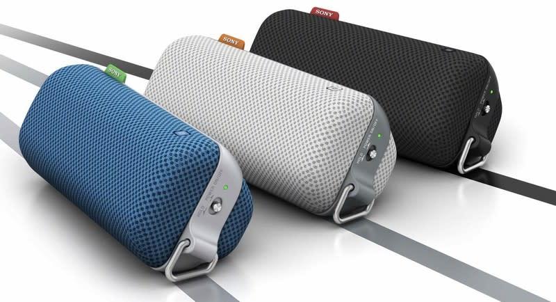LITEN OG LETT: Med sin lette vekt og robuste design er denne trådløse høyttaleren perfekt for dine aktiviteter utendørs.