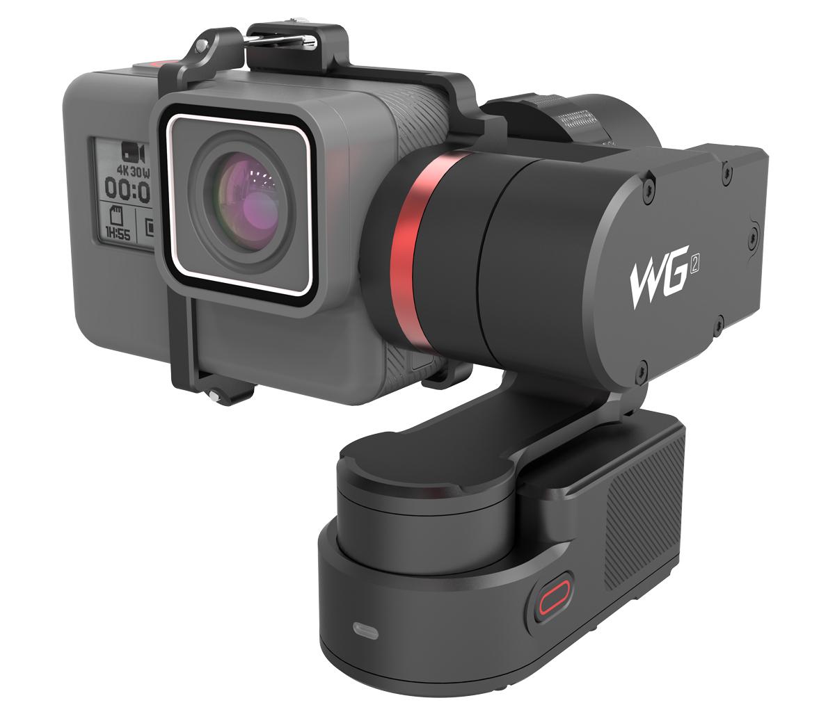 NYHET: FeiyuTech WG2 er en bærbar kamerastabilisator som fungerer med de aller fleste actionkameraer.