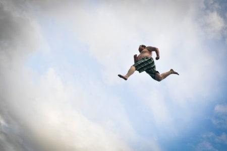 STOR IDRETT: Det er ingen tvil om at dødsing er idrett på sitt beste. Foto: Kristian Harby