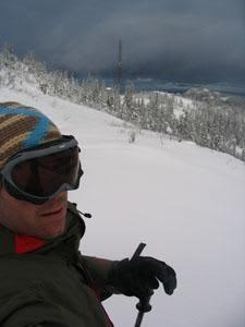Thomas Bjørdal tar sesongens første skitur