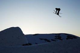 SOMMERCHILL: Lørdag blir det big air konkurranse på Stryn. Foto: Frode Sandbech