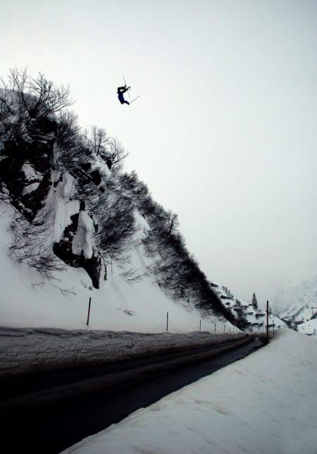 SKAL LEDE ARRANGEMENTENE: Det ligger an til en del roadgaps på High Camp til vinteren, med Magnus Tveito ved roret. Foto: Jerk Looman