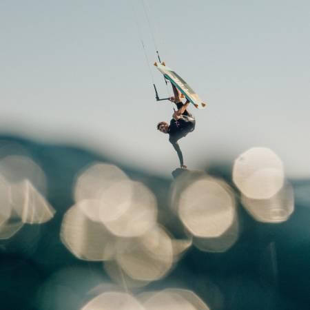 Kiting er en sammensatt sport med et uendelig potensiale.