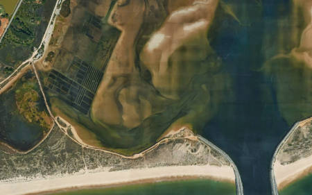 Lagoa de Alvor Algarve flatwater Portugal paradise