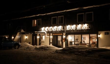 MEKKA: Haugastøl Turistsenter har vært det viktigste samlingspunktet for norsk og internasjonal snøkiting i et titalls år.