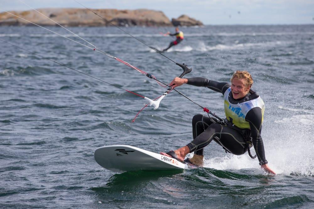 KONGEN: Christian Juell vant Kongen av Færder i helga. Foto: Camilla Ringvold