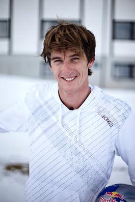 BORTEBANE: Verdensmester i kiteboarding 5 x, Aaron Hadlow er på plass. Bilde: Christian Nerdrum