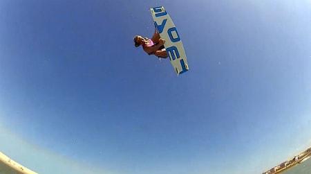 VERDT Å SE: Kiting på himmelhøyt nivå i damefilmen fra Brasil!