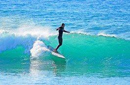 SURF: Portugals ville kyst har blitt en lekeplass for mange.