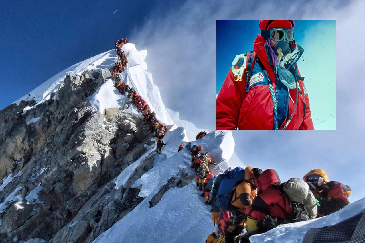 Mount Everest oksygen Nepal