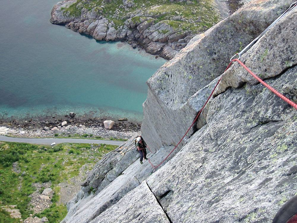 Klatring i Lofoten
