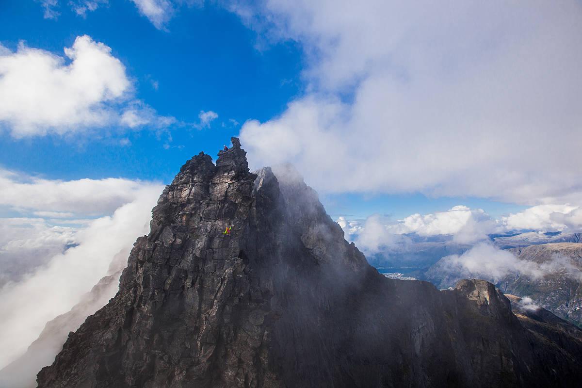 Romsdalen klatring