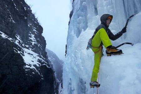 VAKKERT: Det er ikke rart han liker fjellene her. Foto: Skjermdump