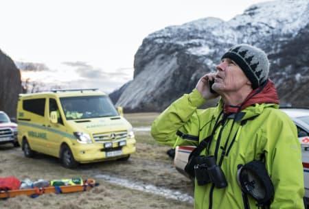 Fulle hus for historier om fjellredning