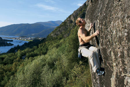 Klatring buldring Romsdalen