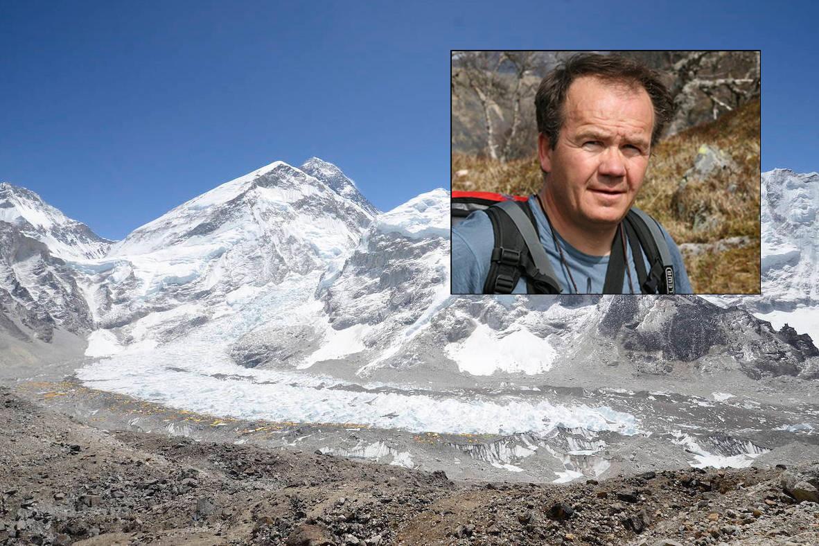 KRITISK: Jon Gangdal er ikke spesielt imponert over at klatrere velger å reise til Nepal for å klatre Mount Everest i pandemien. Foto: Privat